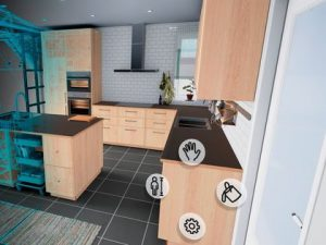 Ikea customers can explore kitchen interiors with VR
